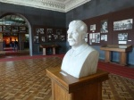 Stalin's bust in the museum in his home town, Gori