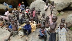 Children in war-zone