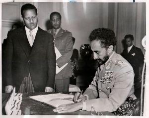 Haile Selassie incorporates Eritrea