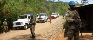 UN troops patrol eastern Congo