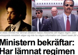 Expressen Front Page