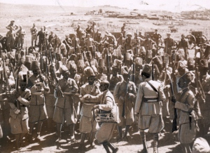 Eritrean troops