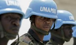 Unamid troops