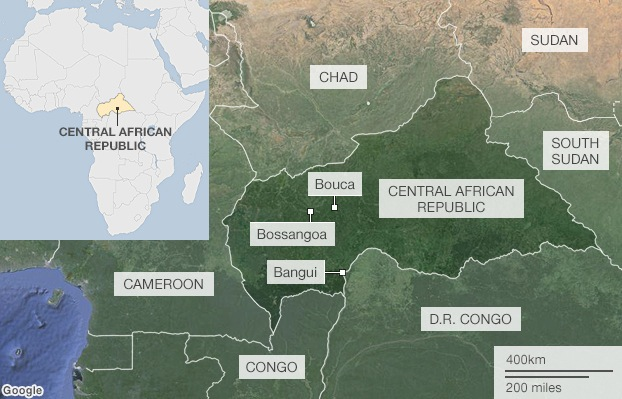 Central Africa Republic Thousands huddle in fear martinplaut