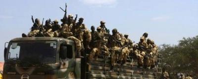 South Sudan troops