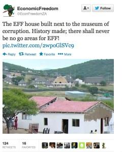 EFF House Nkandla 1