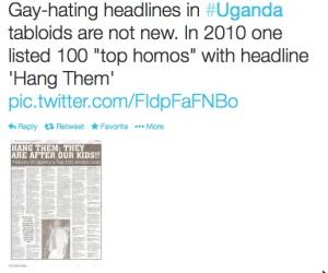 Uganda gays 2010