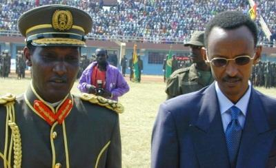 General Nyamwasa and Pres Paul Kagame
