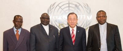 Secretary-General Ban Ki-moonÕs press encounter with religious leaders of CAR.
