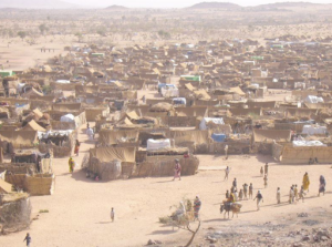 Darfur refugees in Chad