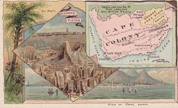 Cape Colony Map