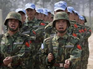 Chinese troops Sudan