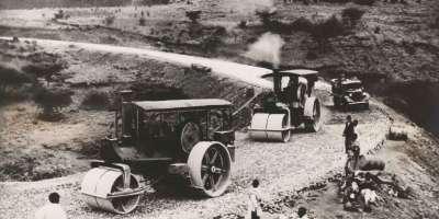Italian road building Ethiopia