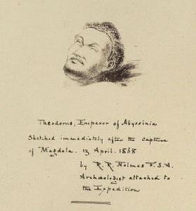King Theodore, after death