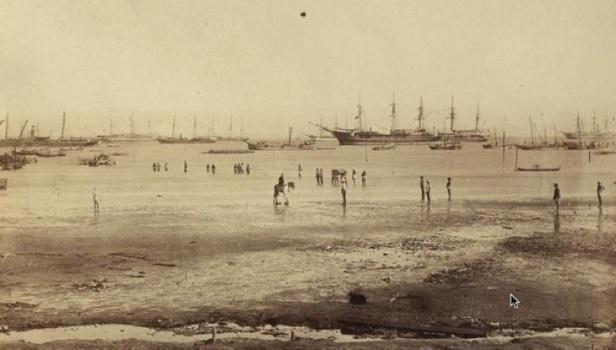 British fleet, Annesley Bay