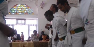 "Ogaden traditional dancers of ""Horseed Qaran"" band"
