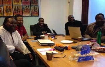 Sudanese blog training