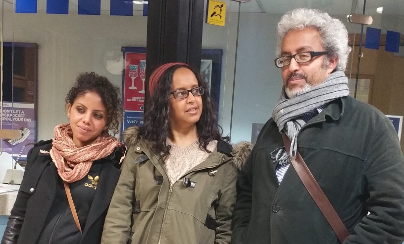 Eritreans lay charges