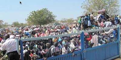 South Sudan refugees UN Bor
