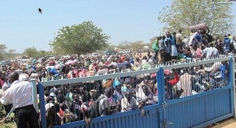 South Sudan refugees UN Bor