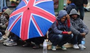 Eritrean refugees Calais