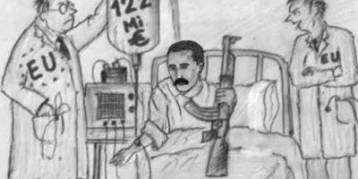 EU Eritrea Cartoon 2009