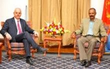 Italian delegation in Asmara with President