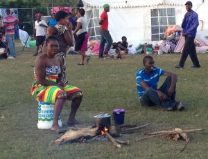 Refugees flee xenophobic attacks Chatsworth