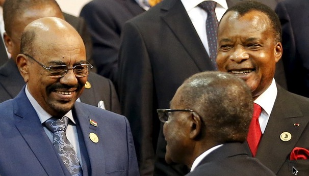 Bashir at SA AU Summit