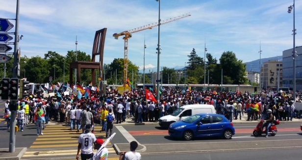 Eritrea demo Geneva
