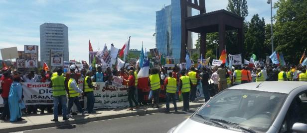Geneva demonstration