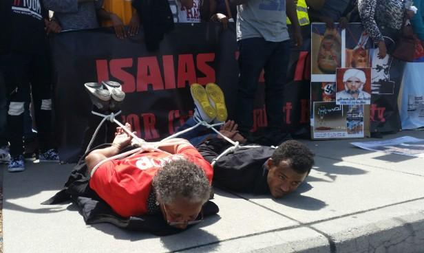 Geneva demonstration torture