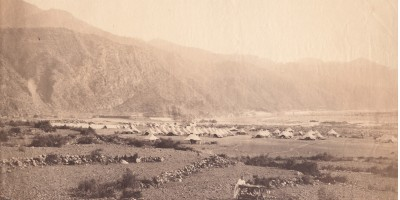 British camp Ethiopia 1868