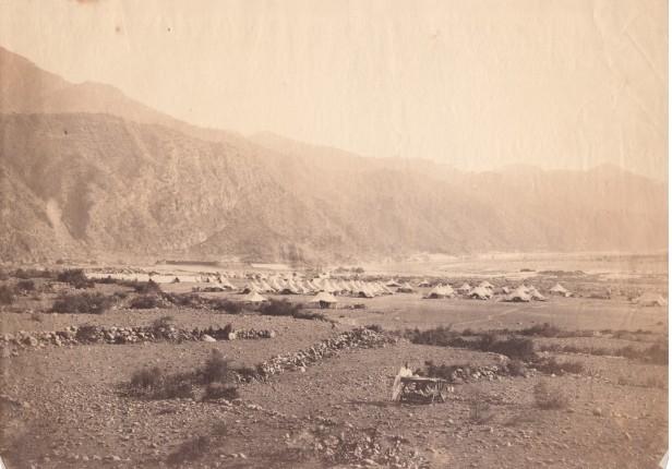 British camp Ethiopia 1868