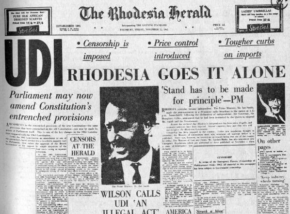 Rhodesia UDI