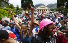 Student protest UCT