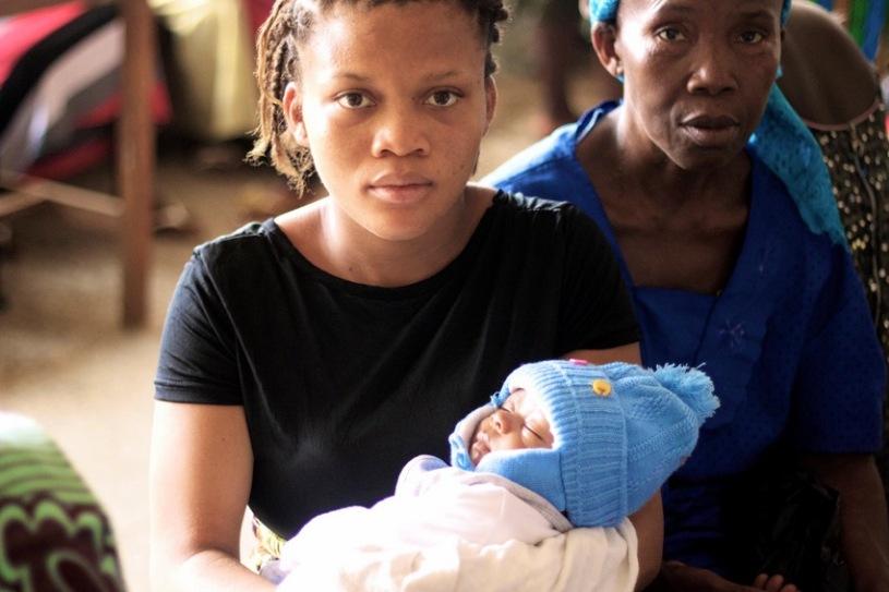Teenage Mum Sierra Leone