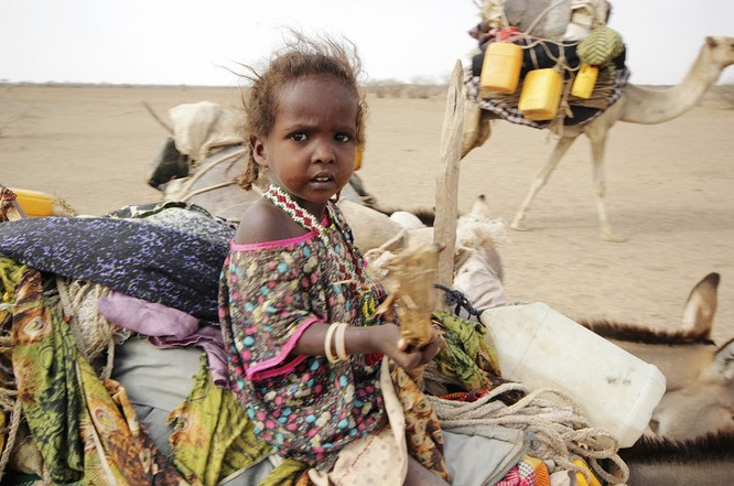 Ethiopia drought victim