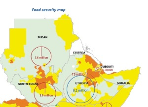Food Security map