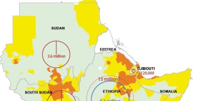 Eritrea Food Security map