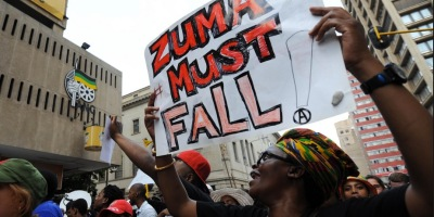 Zuma must fall demo