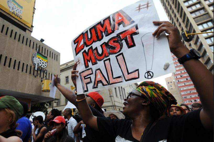 Zuma must fall demo