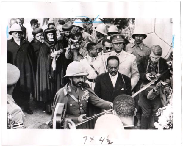 Haile Selassie Eritrea border