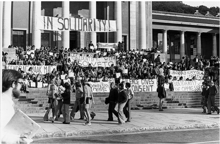 Soweto solidarity UCT