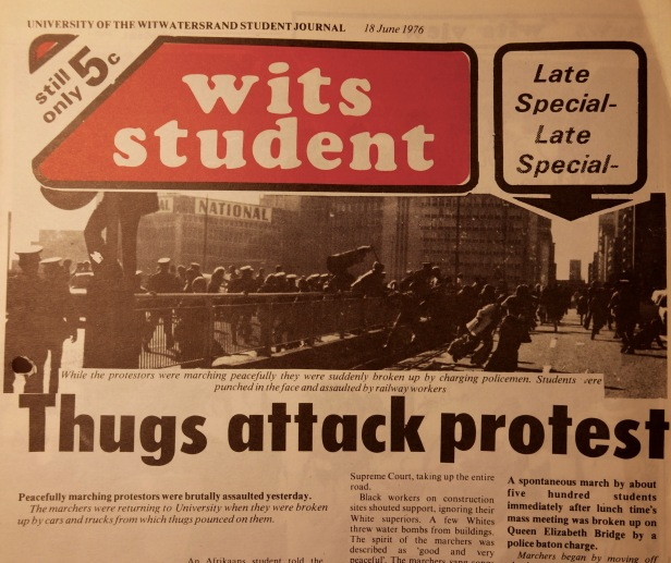 Wits Student Thugs Attack