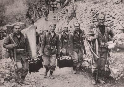 Blackshirt troops arrive Eritrea 1935