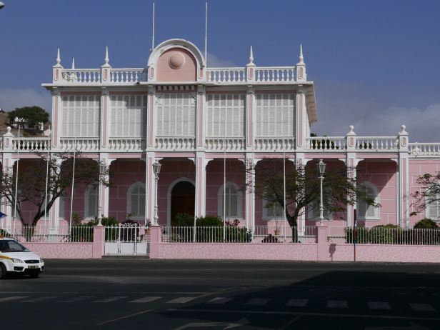 Cape Verde -  Mindelo presidential palace - Sao Vincente