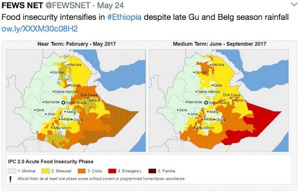 Ethiopia, Yemen, Somalia head further into crisis as drought
