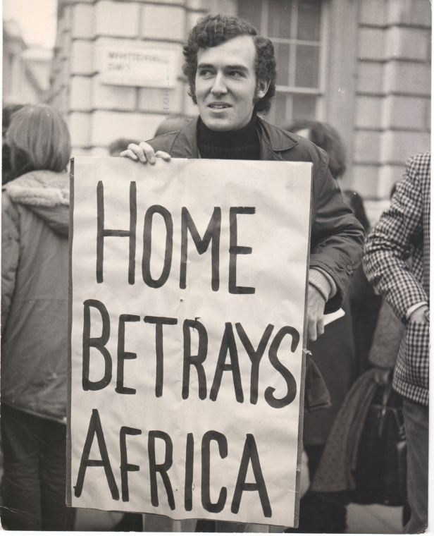 Peter Hain demonstration 25 November 1971