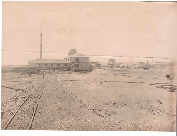 Glencoe coal mine Natal 1